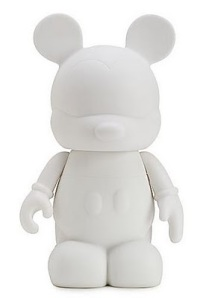 Blank 9 Inch Mickey Mouse Disney Vinylmation Figure