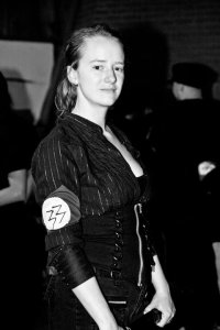 Meggan Jaffe as an NPC (Non-Player Character) Nazi out to destroy the town.